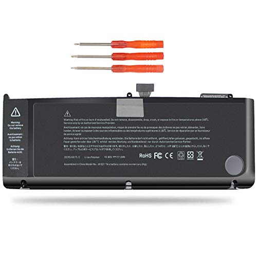 Vinpera 77.5WH A1321 Laptop Battery for MacBook Pro 15' inch A1286 Battery(Only for Mid 2009, Early/Late 2010),fits MB985LL/A MC118LL/A MC371LL/A MB986LL/A 661-5211