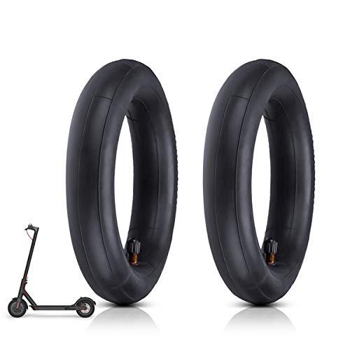 8 1/2 Ersatzräder Innenreifen, 2 PCS Elektro Scooter Reifen für Xiaomi M365, Dicker und verschleißfeste für Xiaomi Mijia Roller mit Luftreifen,Kompatibel mit 8,5-Zoll-Reifen