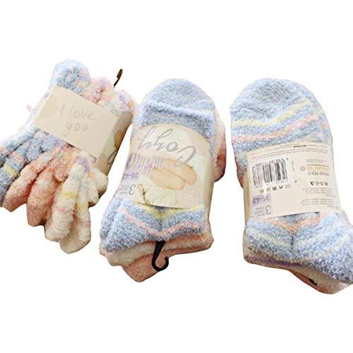 Sockswear 3 Paar Kuschelsocken gemustert 35-42