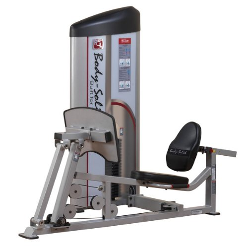 Body-Solid S2LPC-2 Pro Clubline Series II Leg Press and Calf Raise Machine with 210 Lb. Weight Stack for Home and Commercial Gym