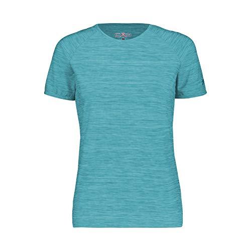 CMP T-Shirt Stretch Jersey, Donna, Ceramic, 50