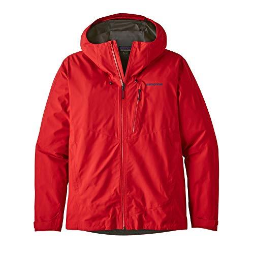 Patagonia M Calcite Jacket Rot, Herren Gore-Tex Regenjacke, Größe XL - Farbe Fire