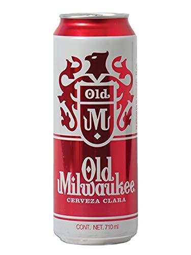 12 pack de Cervezas en Lata Old Milwauke 710 ml