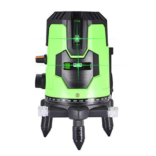 Nivel láser Vertical 3D, láser de línea Cruzada Verde, láser Profesional Verde...