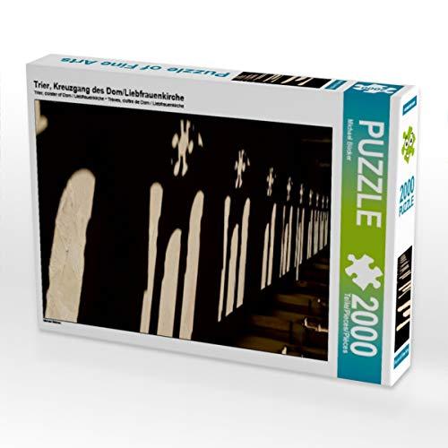 Trier, croix du Dom/Église amoureuse 2000 pièces Puzzle haut (CALVENDO Ort)
