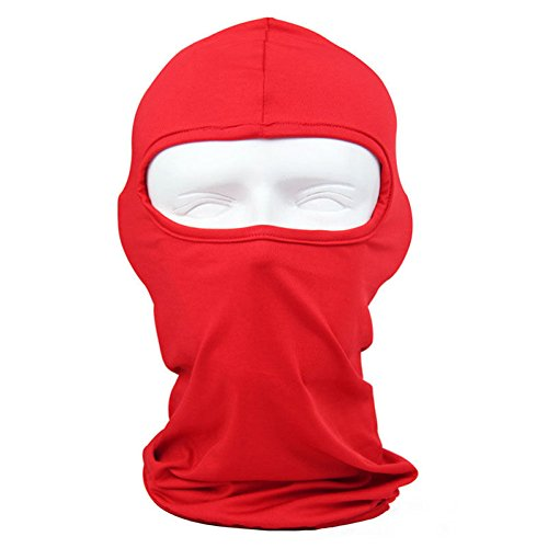 lilyy Classic Lycra Ski Face Full Mask Bike Bicycle Motorcycle Cs Sports Football Balaclava Helmet For Sun UV Protection