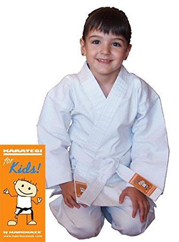 Kamikaze Traje de Karate - Karategui for Kids, by (00/120 cm)