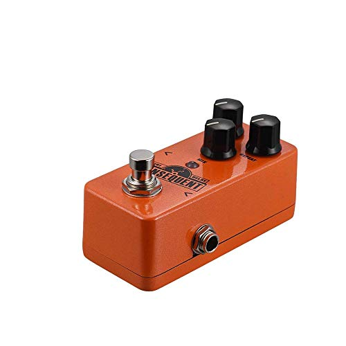 WSMLA Multi Guitar Effect Pedal Force Effects Delay Chorus High Gain Distortion Pedal with delay Pedal NDD-2 Digital Delay Guitar Effect Pedal 800ms Delay Range Tap Tempo Function