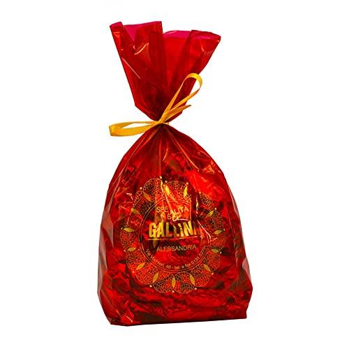 'Baci Gallina' baci di dama al cioccolato - sacchetto 280gr , Eccellenza artigiana Piemonte, - biscotti al cioccolato