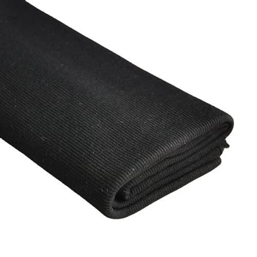 TinaKim 2x2 Rib Knit Fabric,Waistbands Collar Cuffs Trim Material for Hoodies...