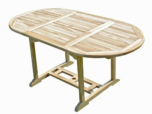 Confort & Loisirs Table de Jardin en Teck Solo 6/8 Places