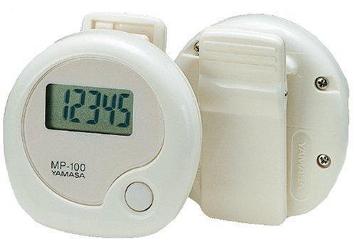 山佐(YAMASA) 万歩計 万歩 振り子式 腰装着タイプ ホワイト MP-100W