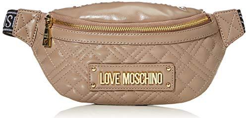 Love Moschino Borsa Quilted Nappa PU, Donna, Grigio, Normale