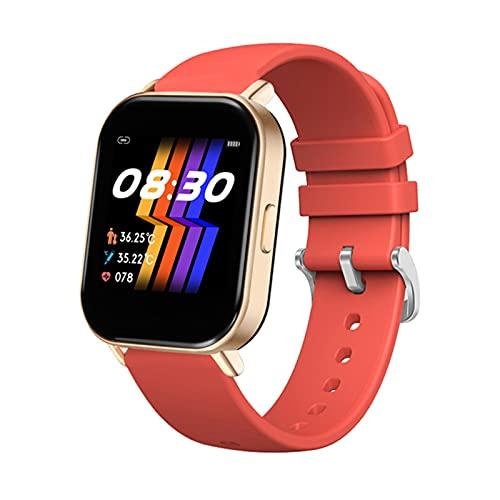 ZGNB Pulsera Inteligente, R66 Monitoreo De La Velocidad Cardíaca Y De La Presión Arterial, El Podómetro Deportivo Bluetooth Music Watch Cámara Control Remoto para Android iOS,E