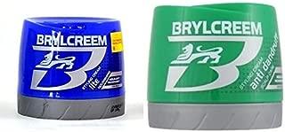 Brylcreem AQUA-OXY Styling Cream Anti Dandruff Scalp Care 250ml & Aqua-Oxy Lite Nourishing Scalp Care 250ml Combo Pack