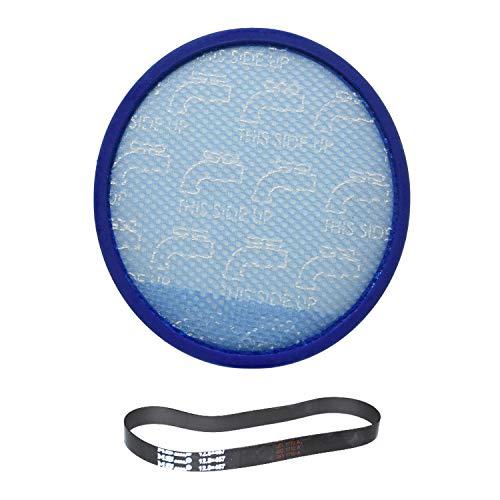 Hoover modelo uh72600viento Max mult-cyclonic vertical sin bolsa lavable primario azul filtro de esponja con una rebobinar Plus/Ms... 12,8x 457cinturón