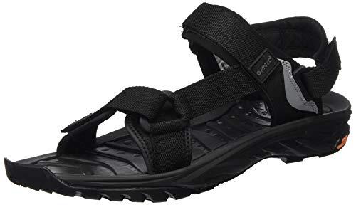 HI-TEC Men's Athletic Sandals Sports, Black Black Charcoal 021, 7.5
