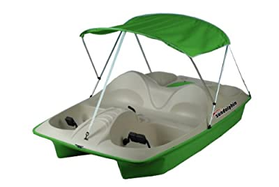 Sun Dolphin 5 Seat Pedal Boat with Canopy