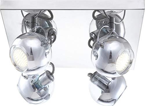 LED 14 Watt Deckenleuchte Deckenlampe Lampe Wohnzimmer Beleuchtung Schlafzimmer Globo Aramid 57880-4