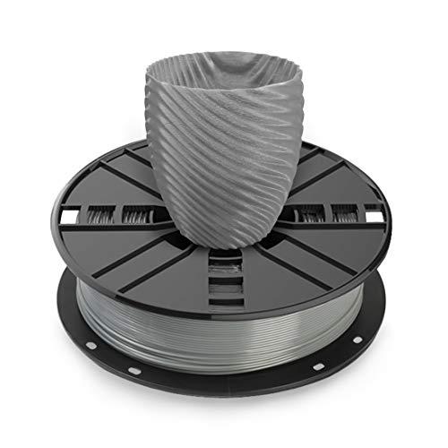 NOVAMAKER 3D Printer Filament - Grey 1.75mm PETG Filament, PETG 1kg(2.2lbs), Dimensional Accuracy +/- 0.03mm