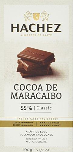 Hachez Cocoa Tafel - Cocoa de Maracaibo Tafel Classicung (1 x 100 g)