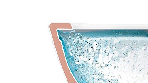 Villeroy & Boch Wand-WC O.Novo mit Sitz, Directflush und ohne Spülrand, 1 Stück, 5660HR01 - 6