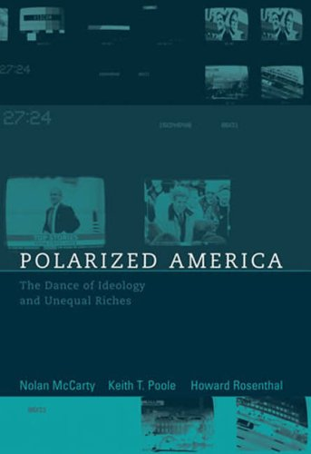 Download Polarized America: The Dance of Ideology and Unequal Riches (Walras-Pareto Lectures) 0262633612