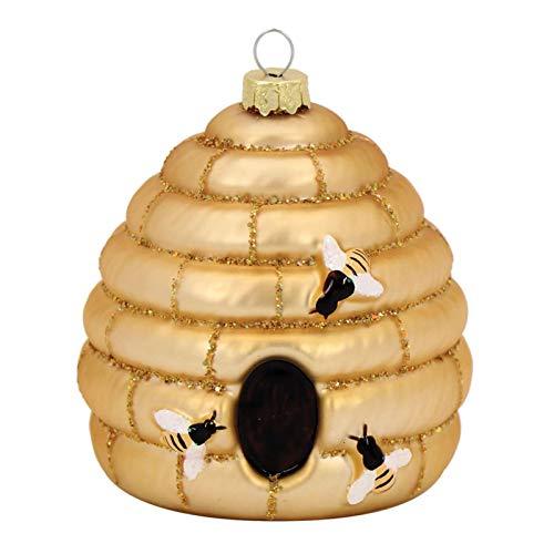 Glass Beehive Ornament