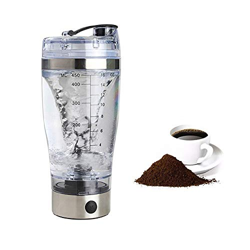 WM Shaker Cup Gym Botella de Agua para Proteínas Mezclador de vórtice...
