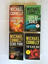 Harry Bosch Novels (4 Books) A Darkness More Than Night -- City of Bones -- Echo Park -- The Black Box, By Michael Connelly
