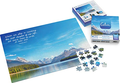 300-Piece Calm Puzzle for Adults and Kids Ages 8 and up, Jasper Lake