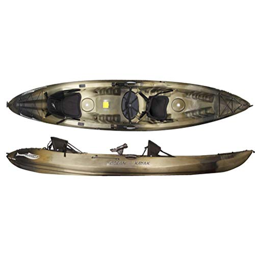 Ocean Kayak Malibu Two XL Angler (Brown Camo, 13 Feet 4 Inches)