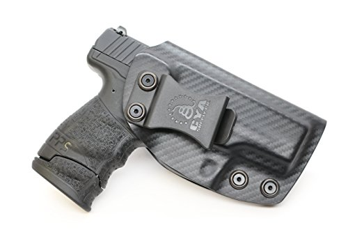 CYA Supply Co. Fits Walther PPS M2 Inside Waistband Holster Concealed Carry IWB Veteran Owned Company (Carbon Fiber, 083- Walther PPS M2)