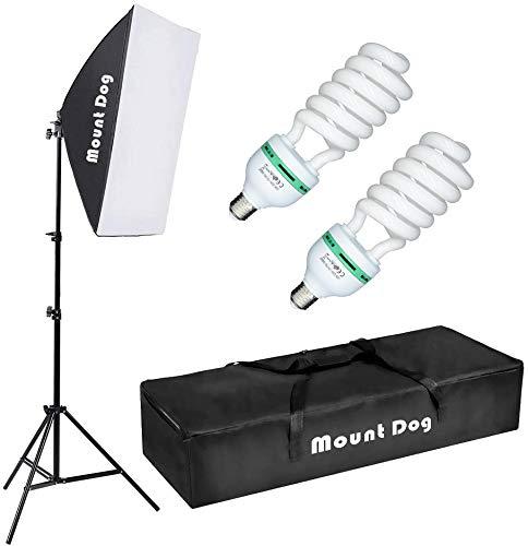 MOUNTDOG Softbox Lighting Kit 20'X28' Professional Photography...