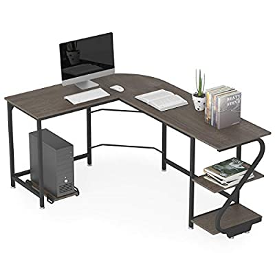 WeeHom Reversible L Shaped Computer Desk by