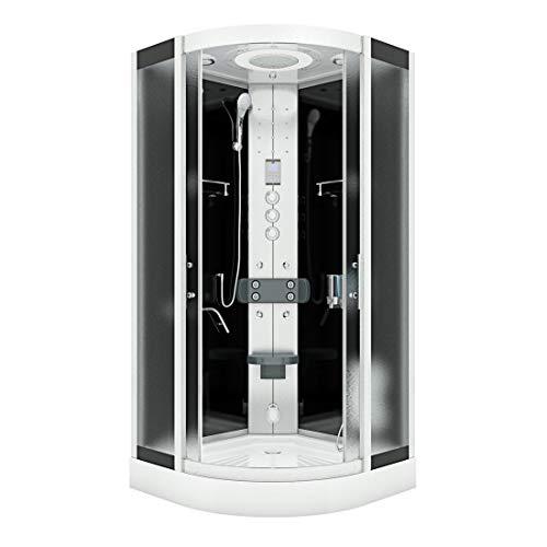 AcquaVapore DTP8058-5313 - Ducha de vapor (90 x 90 XL, sin sellado de 2 K)