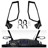 A & UTV PRO Adjustable Folding Side View Mirrors,Compatible with 2020-2021 Polaris RZR Pro Ultimate XP/4 Premium LE, Replace OEM #2883762