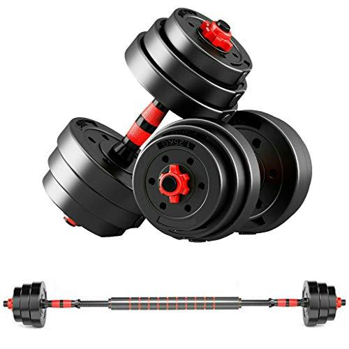TEETOK 20kg Hanteln Paar Turnhallengewichte Langhantel/Hantel Bodybuilding Gewichtssatz