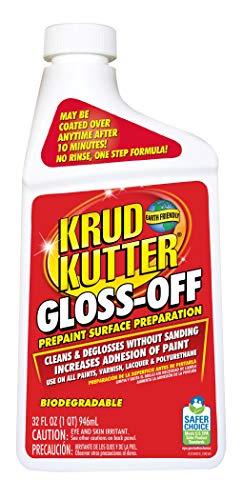 KRUD KUTTER GO32 Gloss-Off Prepaint Surface Preparation, 32-Ounce