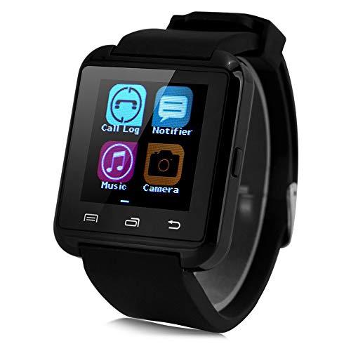 YMKT U8 Smart Watch, Bluetooth 3.0 Smartwatch, tragbar, Outdoor-Sport, modisches Armband, Synchronisierung, SMS, Chat, Musik, Foto, Antwort-Zifferblatt, Telefon, Alarm, Schrittzähler Armband