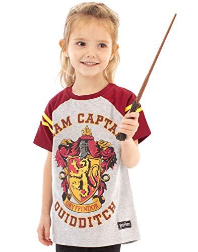Harry Potter Quidditch Team - Camiseta para niña multicolor 13-14 años