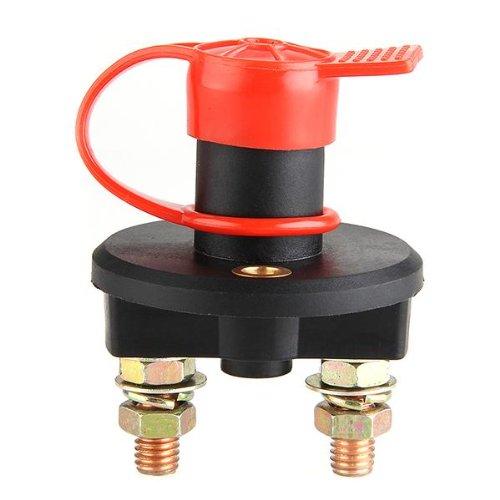 24V 400A Batterieschalter Batterie Trennschalter Stromschalter KFZ PKW LKW Hauptschalter Switch mit Schlüsse und wasserdicht Gehäuse