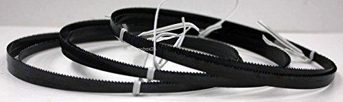 3 x Premium Sägeband Bandsägeband Bandsägeblatt Sägebänder 1505 mm x 6 mm x 0,36 mm x 14 Zähne pro Zoll , für weiche Metalle wie Bronze, Kupfer und Aluminium, geeignet für Maschinen wie : Elektra Beckum BS 230 , Rexon 2300 A uvm.