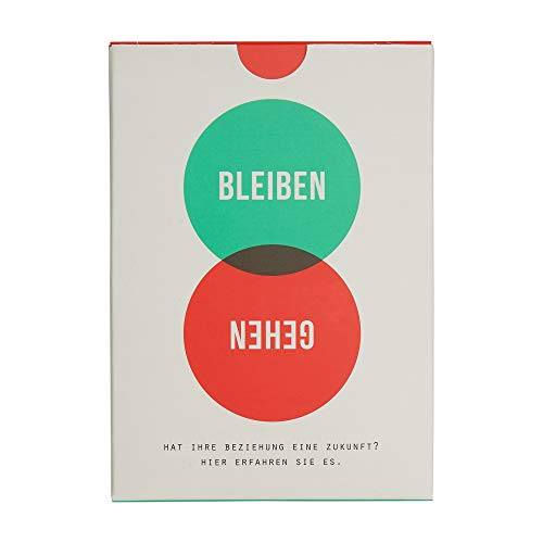 BLEIBEN ODER GEHEN? | KARTENSET | Deutsche Edition | The School of Life