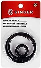 SINGER 2125 Sewing Machine Belt and Bobbin Winding Belt , Black