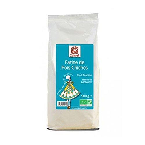 Celnat - Farine De Pois Chiches Bio 500G