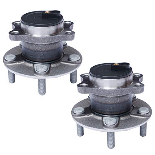 Price comparison product image TUCAREST 512332 x2 (Pair) Rear Wheel Bearing and Hub Assembly Compatible Chrysler 200 Sebring Dodge Avenger Caliber Jeep Compass (Mfr Body Code:MK) Patriot [FWD 5 Lug W / ABS]