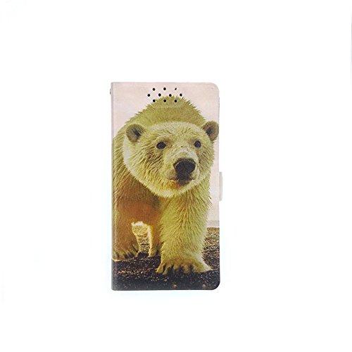 Stengh Meizu 15 Plus Hülle, Clamshell Muster Eingebaute Karte Tasche Leder Cover für Meizu 15 Plus Cover Hülle NJX