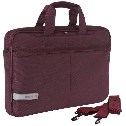 Tech Air Laptop Shoulder Bag Briefcase, 42 cm, Purple