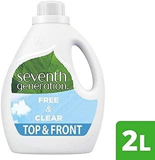 Seventh Generation Laundry Liquid Free & Clear, 2L